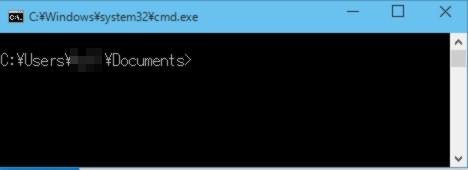 エクスプローラーの指定パスをカレントフォルダーにしてコマンドプロンプトを直接起動する「裏メニュー」