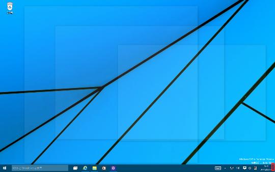 Windows 10 Technical Preview 2 (Build 10xxx)のデスクトップ上に表示されているウィンドウをすべて透明化する方法
