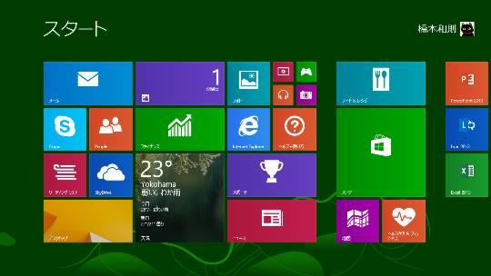Windows 8.1のピクチャログオン