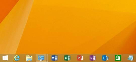 Windows 8.1 Updateでタスク バーに置いてあるプログラムをショートカットキーで起動
