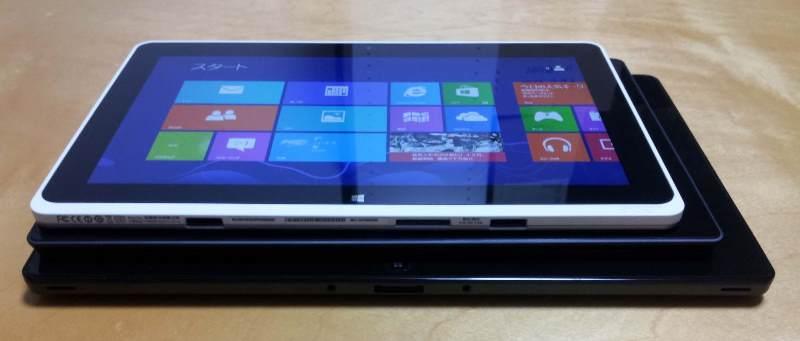 Windows 8タブレット ICONIA W510(Clover Trail:Atom Z2760+