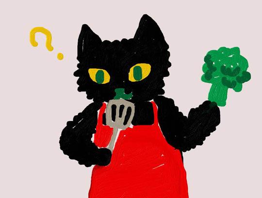 黒猫の献立